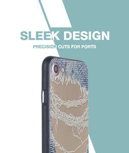 Distressed Jeans Case For iPhone 7