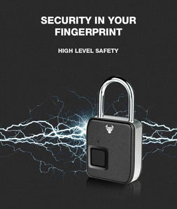 Fingerprint Padlock Plus - Robobull
