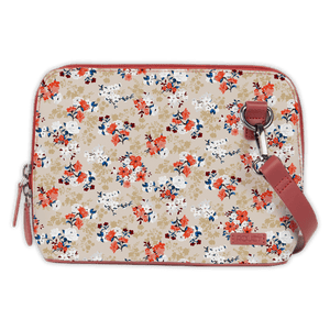 Floral Treasure Wine Mini Shoulder Bag