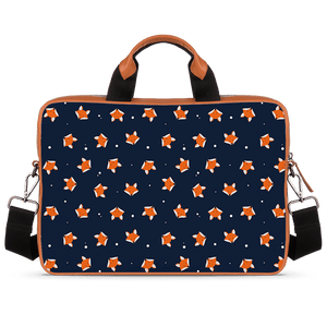 Fox Are Cute Too Tan Laptop Briefcase