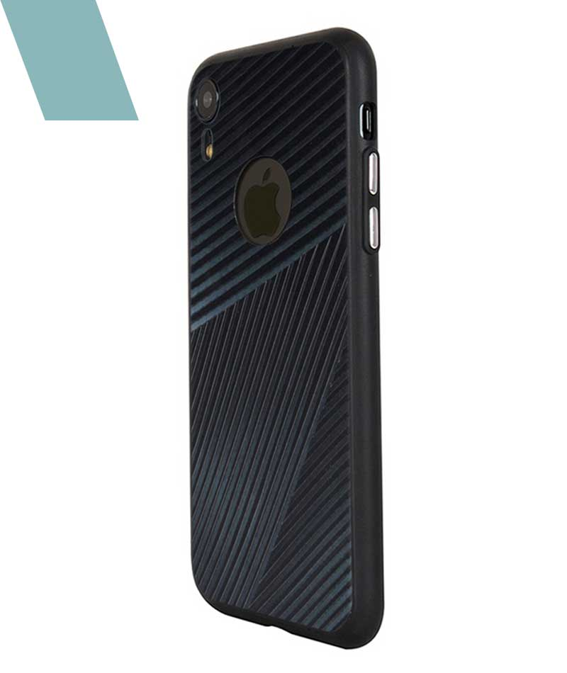Gentleman Stripes Case For iPhone XR