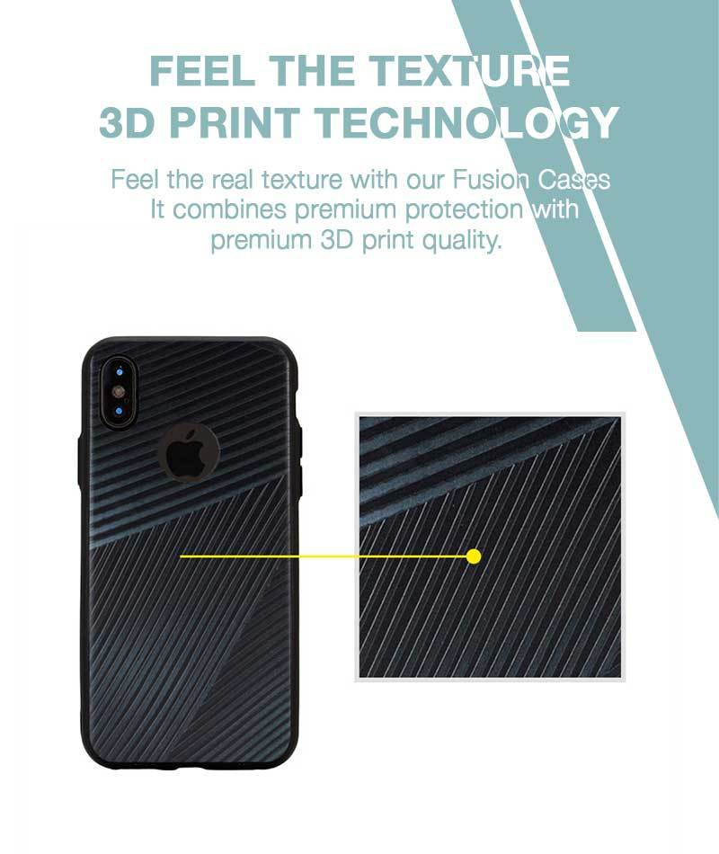 Gentleman Stripes Case For iPhone Xs