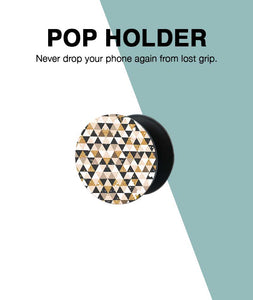 Glitter Triangles Pop Up Holder