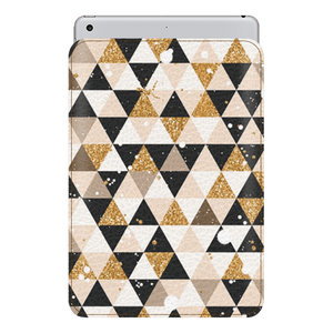 Glitter Triangles Sleeve For iPad 10.5""