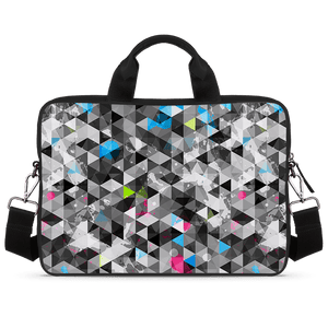 Graphical Illusion Jade Black Laptop Briefcase