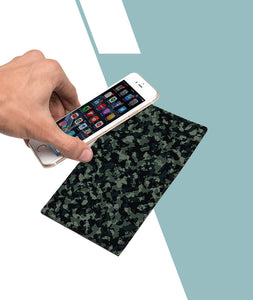 Green Camouflage Designer Smartphone Pad