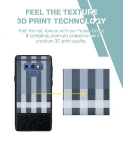 Grey Check Case For Galaxy Note 9