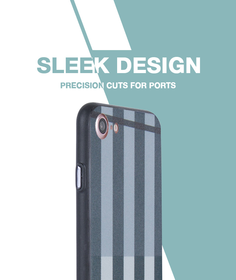 Grey Check Case For iPhone 7