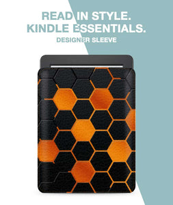 Hexagon Fire Sleeve For Kindle Paperwhite