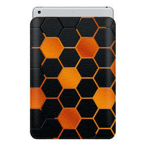 Hexagon Fire Sleeve For iPad mini 4