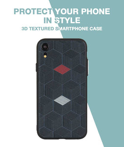 Hexagon Case For iPhone XR