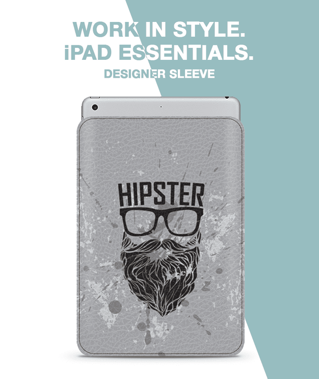 Hipster swag Sleeve For iPad 9.7