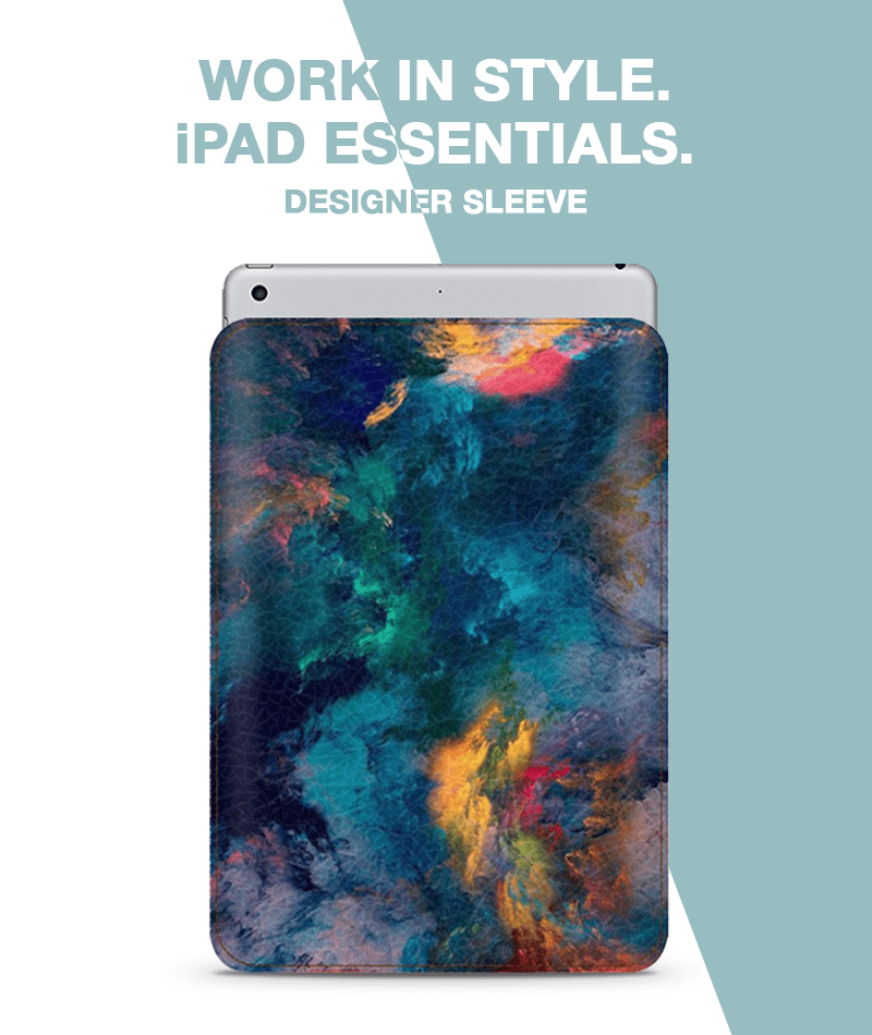 Intense Clouds Sleeve For iPad mini 4