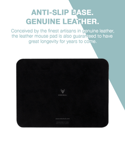 Just One Designer Leather Mouse Pad