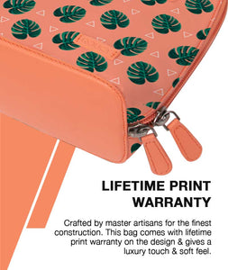 Leafy Angles Flamingo Mini Shoulder Bag