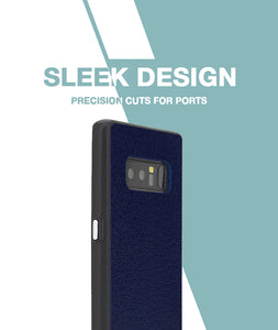 Leather Feel Lavender Case For Galaxy Note 8