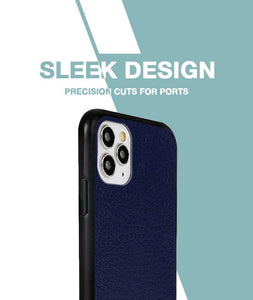 Leather Feel Lavender Case For iPhone 11 Pro Max