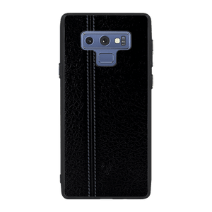 Leather Seam Grey Case For Galaxy Note 9