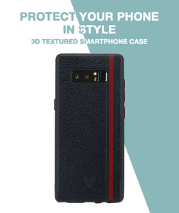 Leather Stripes Case For Galaxy Note 8