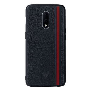 Leather Stripes Case For OnePlus 7