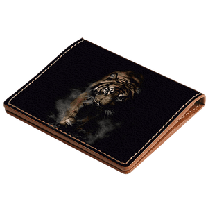 Marching Tiger Credit Card Wallet