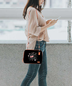 Mother Of All Languages Flamingo Mini Shoulder Bag