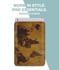 old map Sleeve For iPad 10.5""