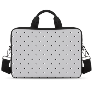 Opposites Attract Jade Black Laptop Briefcase 14""