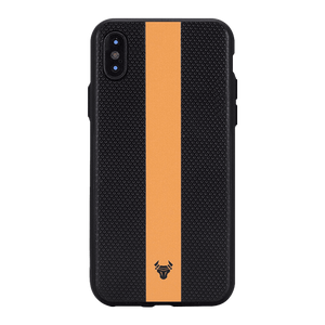 Orange on fall Case For iPhone Xs
