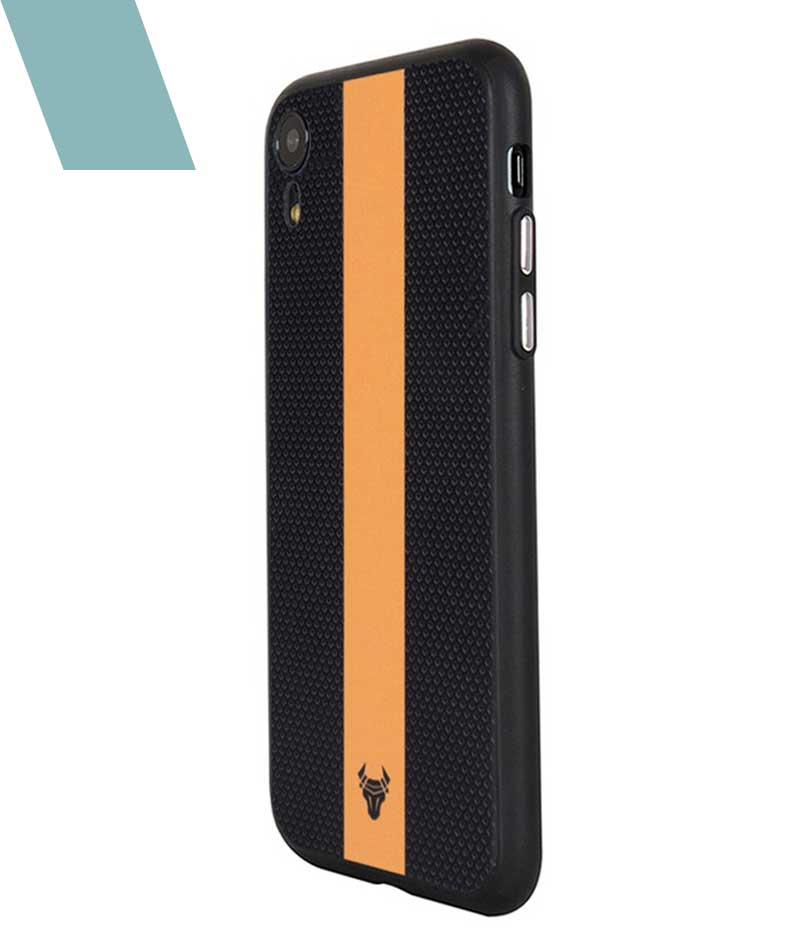 Orange on fall Case For iPhone XR
