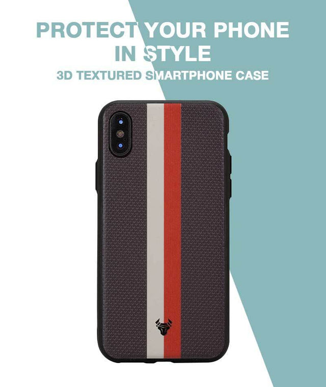 Intense Duo Striped Case For iPhone X