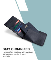 Street Snow Fall Passport Wallet