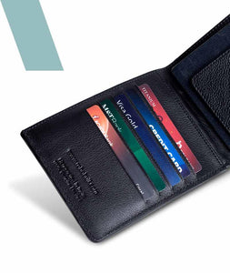 Asymmetrical Passport Wallet