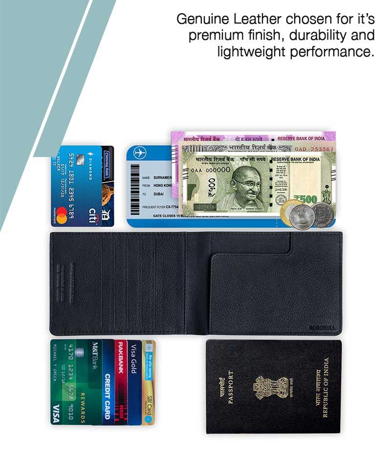 No Option Passport Wallet