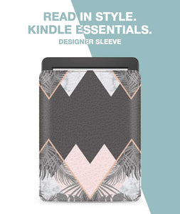 Pastel Mountain Sleeve For Kindle Voyage