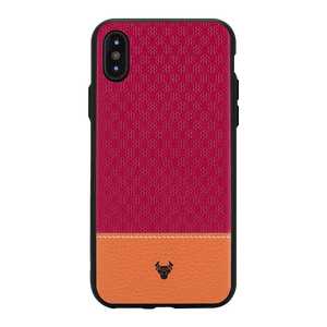 Pink Motif Case For iPhone X