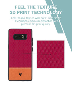 Pink Motif Case For Galaxy Note 8