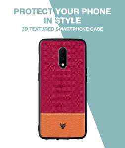 Pink Motif Case For OnePlus 7