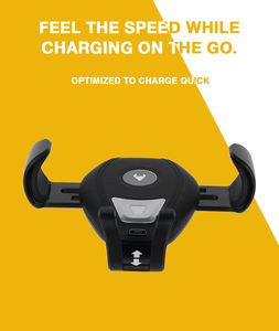 QiCar Wireless Charger Air Vent Mount