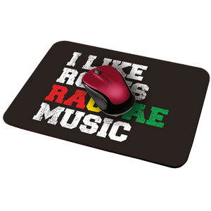 Raggae Music Designer Leather Mouse Pad