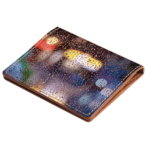 Rain Drops Credit Card Wallet