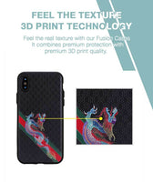 Royal Dragon Case For iPhone X