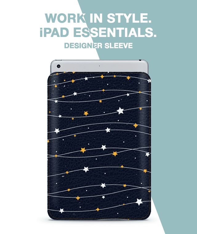 Starry Lights Sleeve For iPad mini 4