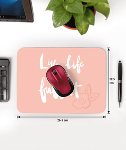 Story Of Life Designer Leather Mouse Pad