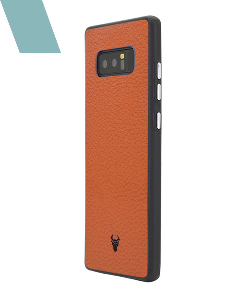 Tan Leather Case For Galaxy Note 8