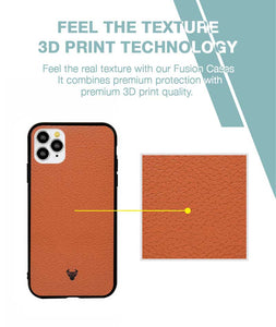 Tan Leather Case For iPhone 11 Pro