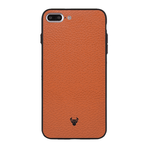 Tan Leather Case For iPhone 7 Plus