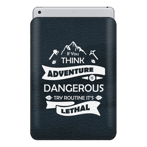 Think Dangerous Sleeve For iPad 10.5""