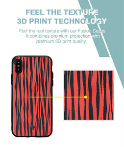 Tiger Print Case For iPhone XS MAX
