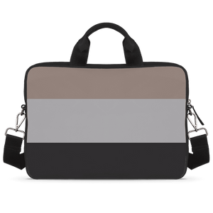 Tri Color Fusion Jade Black Laptop Briefcase